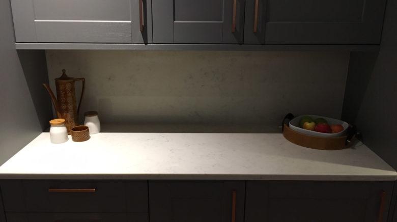 Carrara Quartz Worktop Example 3