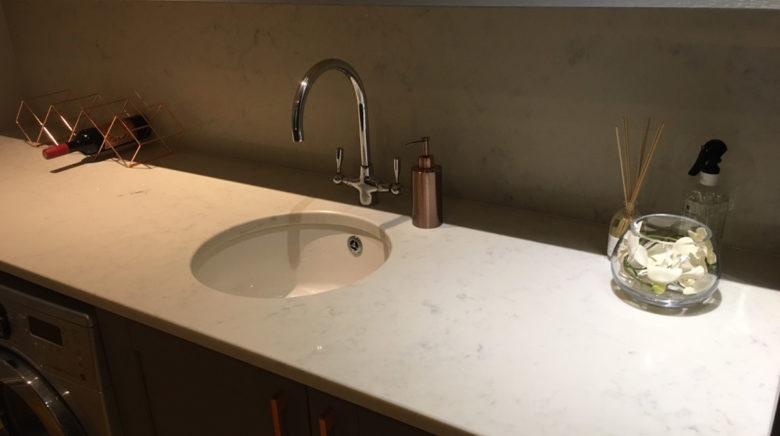 Carrara Quartz Worktop Example